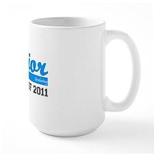 Senior Graduating Class Mens 2011 Logo Mug