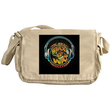 2009 Stax Logo 2400x2400 Messenger Bag