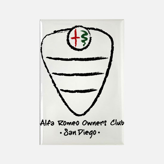 grill logo large Rectangle Magnet