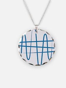 NWS_symbol_blue Necklace