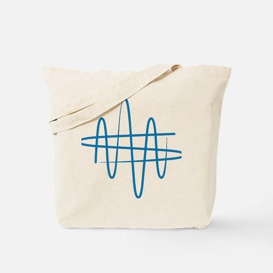 NWS_symbol_blue Tote Bag
