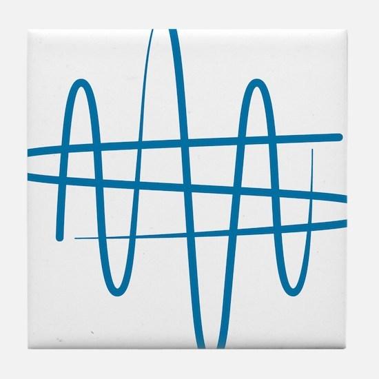 NWS_symbol_blue Tile Coaster