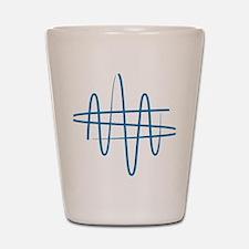 NWS_symbol_blue Shot Glass
