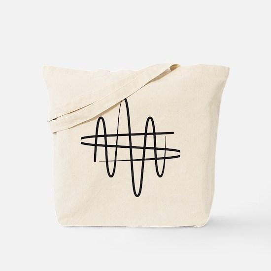 NWS_symbol_black Tote Bag
