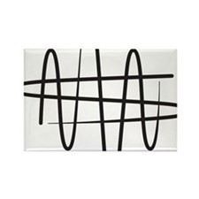 NWS_symbol_black Rectangle Magnet