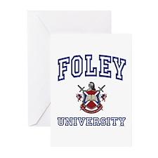 FOLEY University Greeting Cards (Pk of 10)