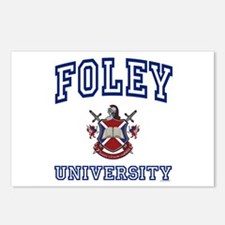 FOLEY University Postcards (Package of 8)