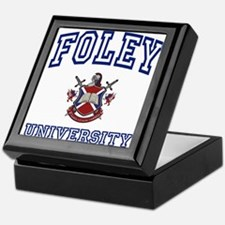 FOLEY University Keepsake Box