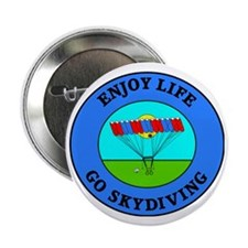 """skydiving4 2.25"""" Button"""