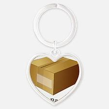 Package Heart Keychain