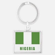 nigeria_flag Landscape Keychain