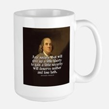 Ben Franklin Quote Mugs
