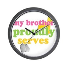 brotherserves Wall Clock
