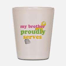 brotherserves Shot Glass