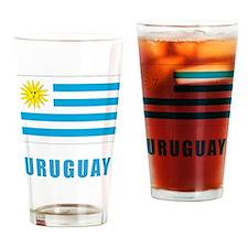 uruguay_flag Drinking Glass