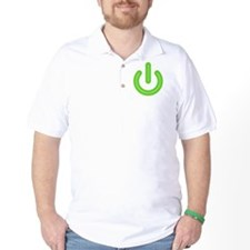 power_on_green T-Shirt