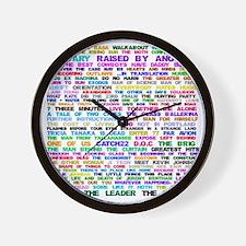 LOSTEpis Wall Clock