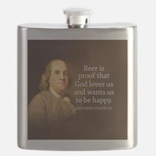 Ben Quote Beer Flask