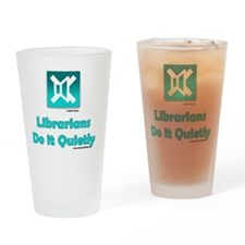 2-quietly Drinking Glass