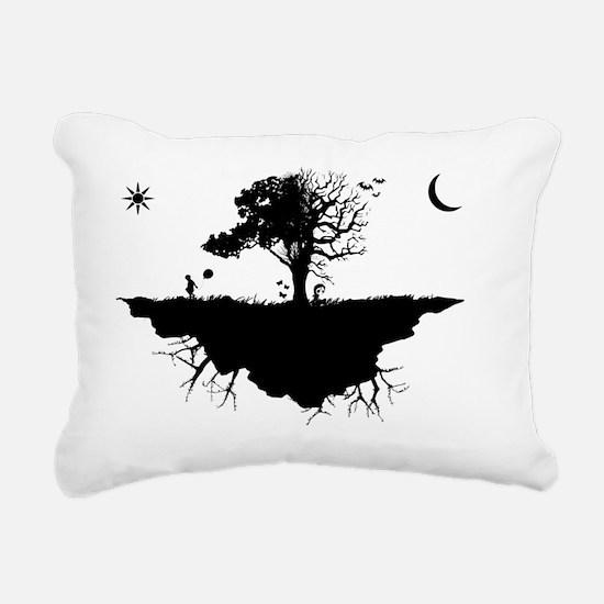 emoislandLARGE Rectangular Canvas Pillow