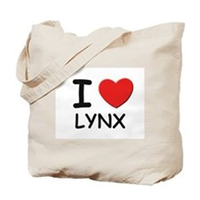 I love lynx Tote Bag