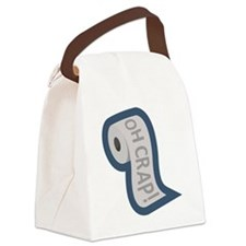toilet3 Canvas Lunch Bag