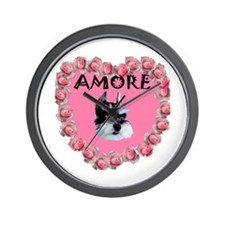 My Valentine Amore Wall Clock