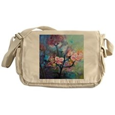 OrchidForest Messenger Bag