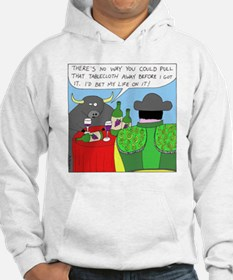 How It All Started - no text Hoodie