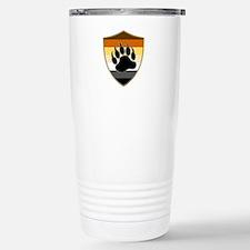 GAY BEAR PRIDE BEAR PAW SHIELD Travel Mug