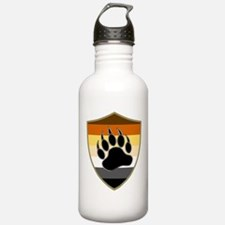 GAY BEAR PRIDE BEAR PAW SHIELD Water Bottle