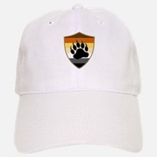 GAY BEAR PRIDE BEAR PAW SHIELD Baseball Baseball Baseball Cap