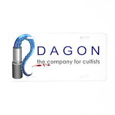 Dagon Cosmetics Aluminum License Plate