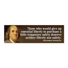 Ben Quote Liberty Wall Decal