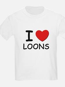 I love loons Kids T-Shirt
