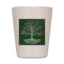 Verd Haitian Relief Tree Shot Glass