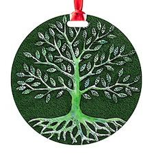 Verd Haitian Relief Tree Ornament