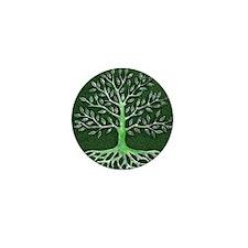 Verd Haitian Relief Tree Mini Button