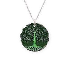 Verd Haitian Relief Tree Necklace