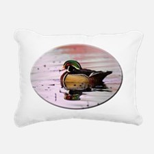 woodduck004 Rectangular Canvas Pillow