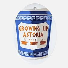 GUA coffee cup Oval Ornament