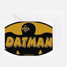 datman Greeting Card