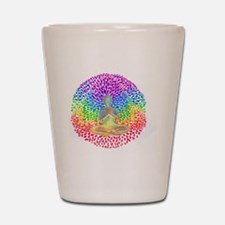 Meditate lg Shot Glass