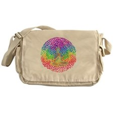 Meditate lg Messenger Bag