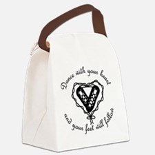 Ghillieheart4 Canvas Lunch Bag