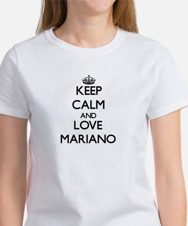 Keep Calm and Love Mariano T-Shirt
