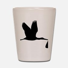 stork_baby Shot Glass