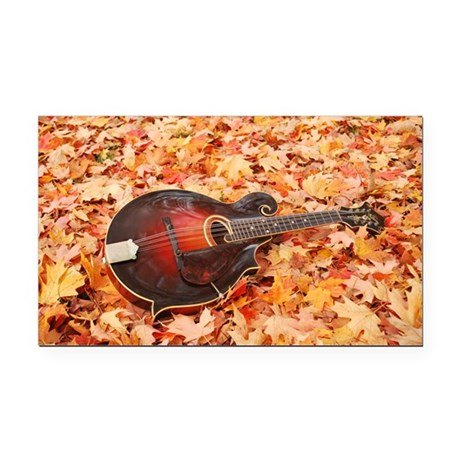 Fall_Leaves_Travel_Mug Rectangle Car Magnet