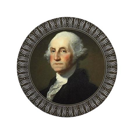 "George Washington 3.5"" Button"