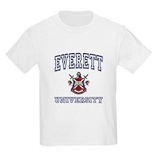 EVERETT University Kids T-Shirt
